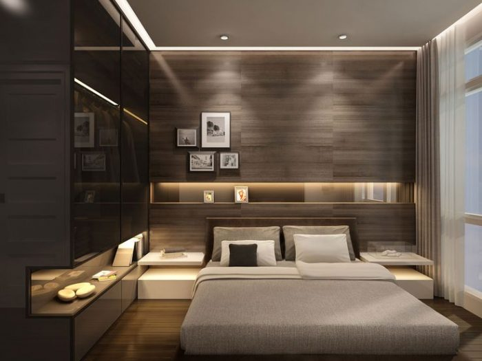 modern bedroom renovation