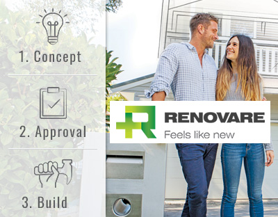 The concept, approval & build renovation process
